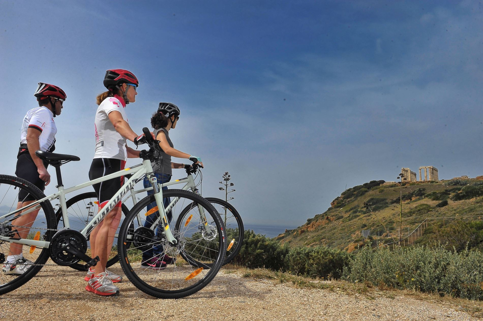"""Poseidon Ride"" Cape Sounio Bike Tour. 6 hours. 40 km"