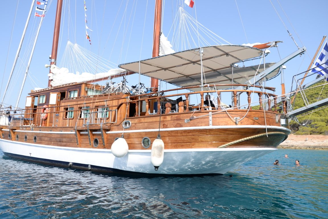 Sail & Cycle Aegina Island, Full day Tour